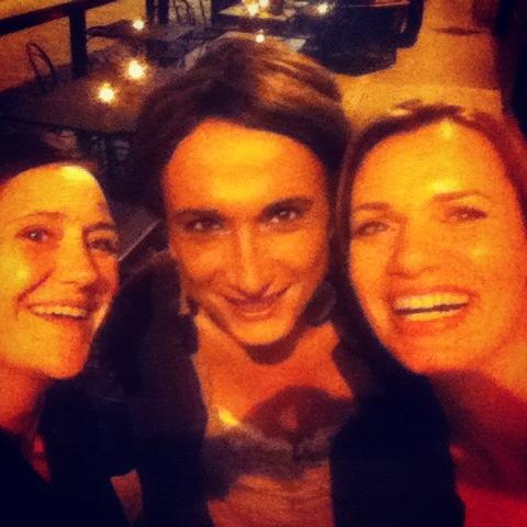 Me with Vladimir Luxuria and Sasha Perugini