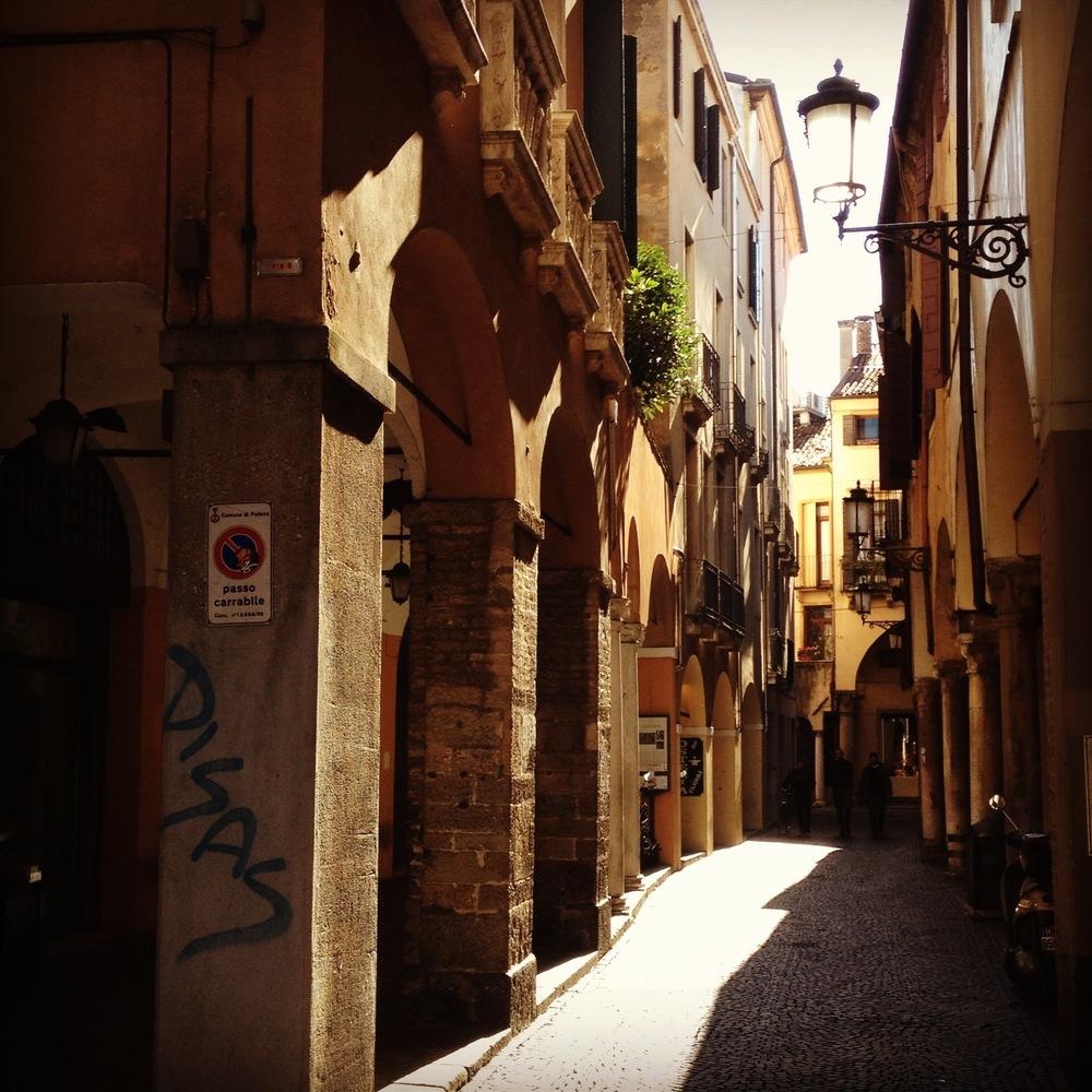 Padua back street.