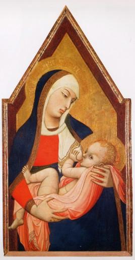 Madonna del Latte, Ambrogio Lorenzetti, 1324-25