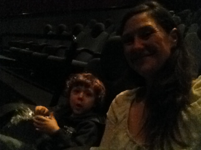 First time at the movies!