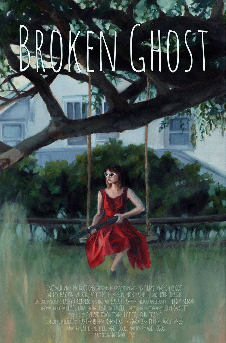 Broken Ghost - 2018 - Excited to share the poster for my next film