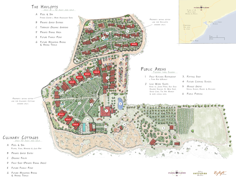 flora farms Overall Master plan