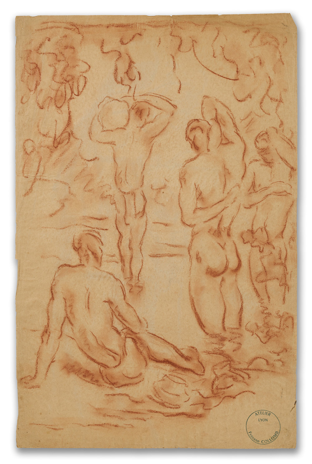 Fernand Collomb, (French 1902-1981), Bathers, 20th Century.