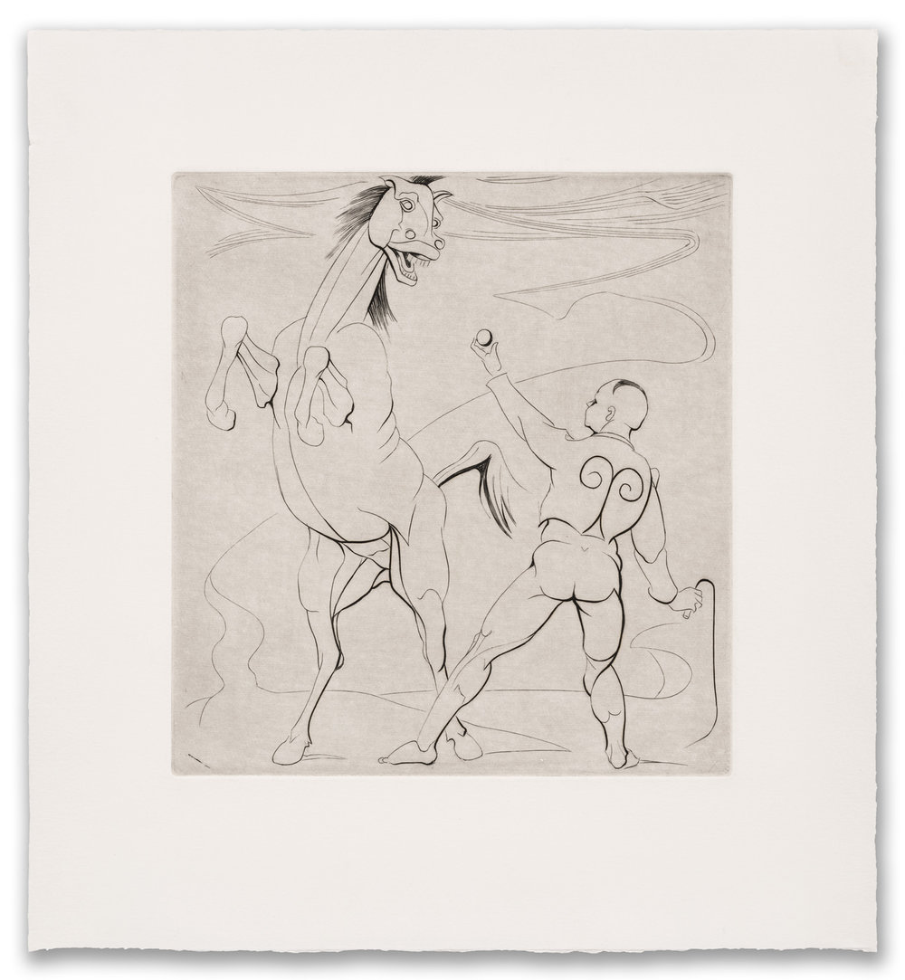 Francis West, (British 1936-2015), Instructions to a Horse, c.1979 (2017 Edition).