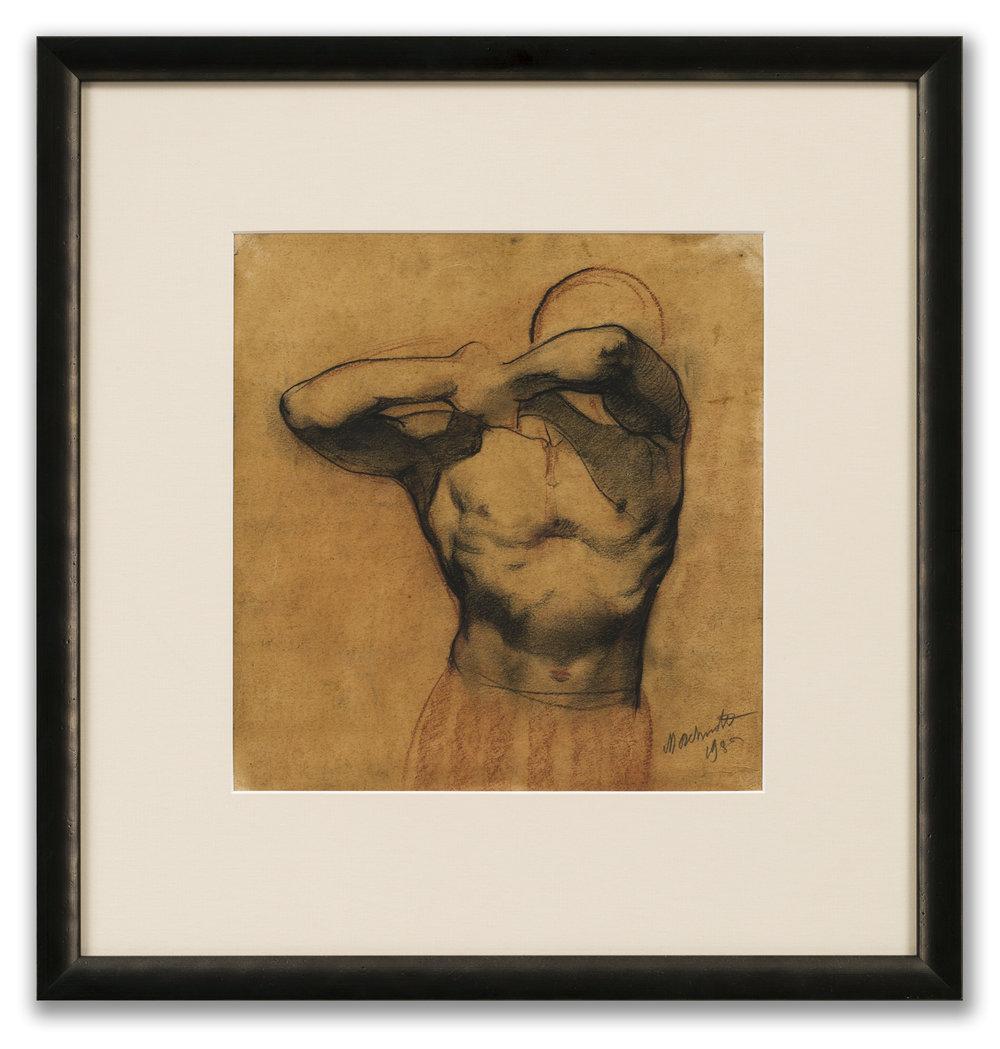 Marcel Delmotte, (Belgium 1901-1984), Figure Study, 1930.