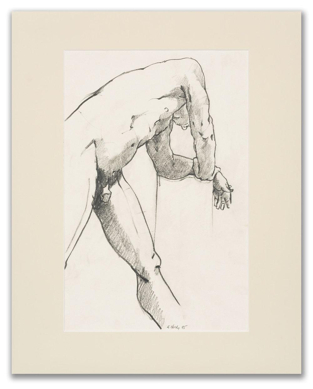 Eileen Healy, (Irish), Male Nude, 1995.