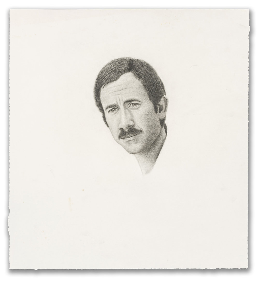 Ronald Bowen, (American b.1944), Portrait of Gilbert, 1976.