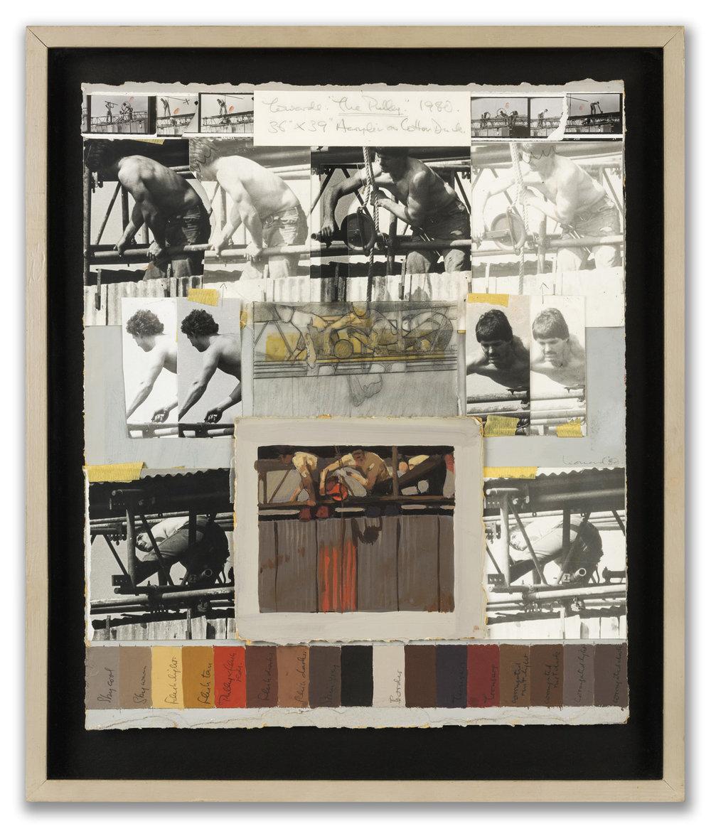 Michael Leonard, (British b.1933), 'Towards: The Pulley', 1979.