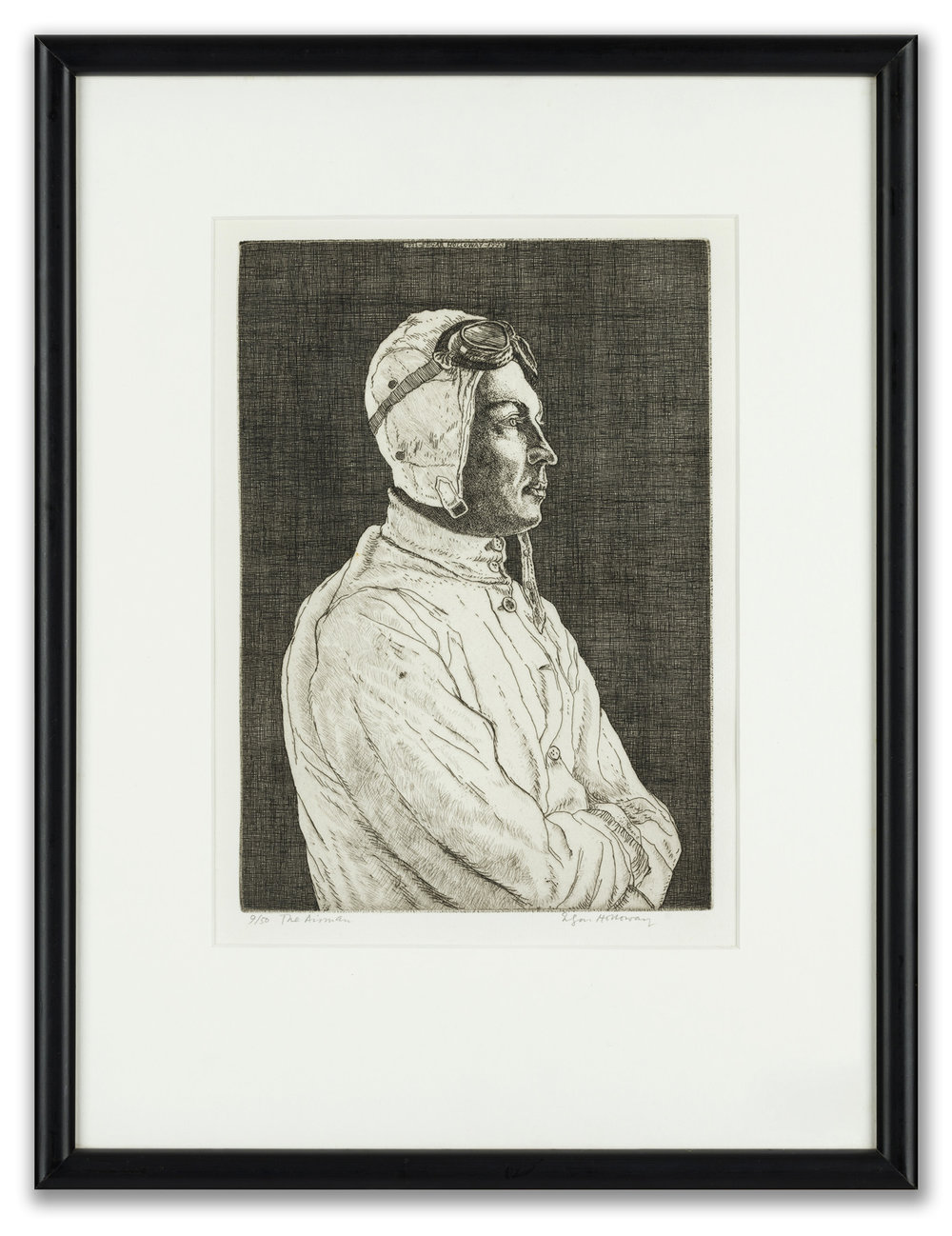 Edgar Holloway, (British 1914-2008), The Airman II, 1993.