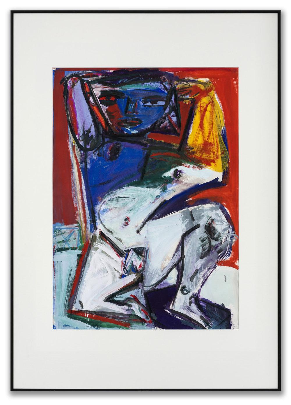 Ian Cook, R.I., R.S.W., (Scottish b. 1951), Dancer I, 2017.