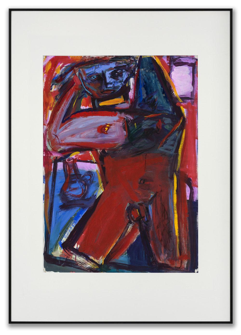 Ian Cook, R.S.W., (Scottish b. 1951), Figure 18, 2016.