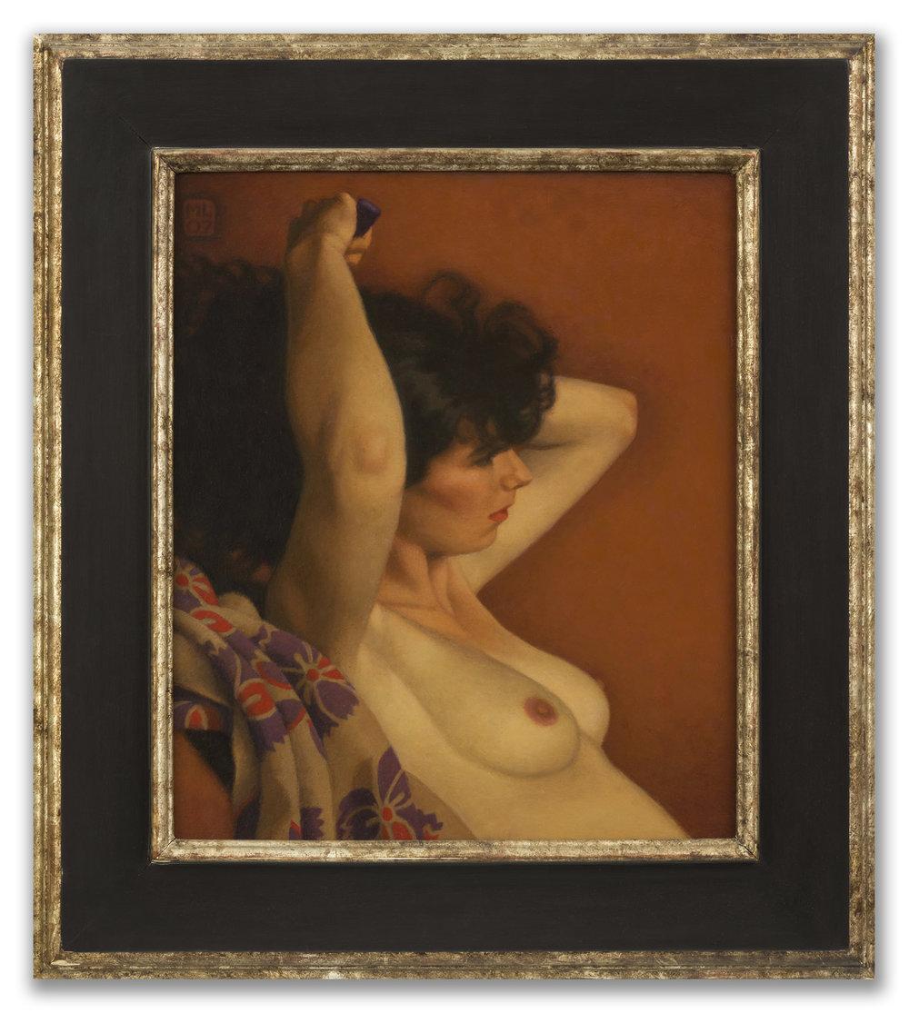 Michael Leonard, (British b.1933), Cloud of Dark Hair, 2007.