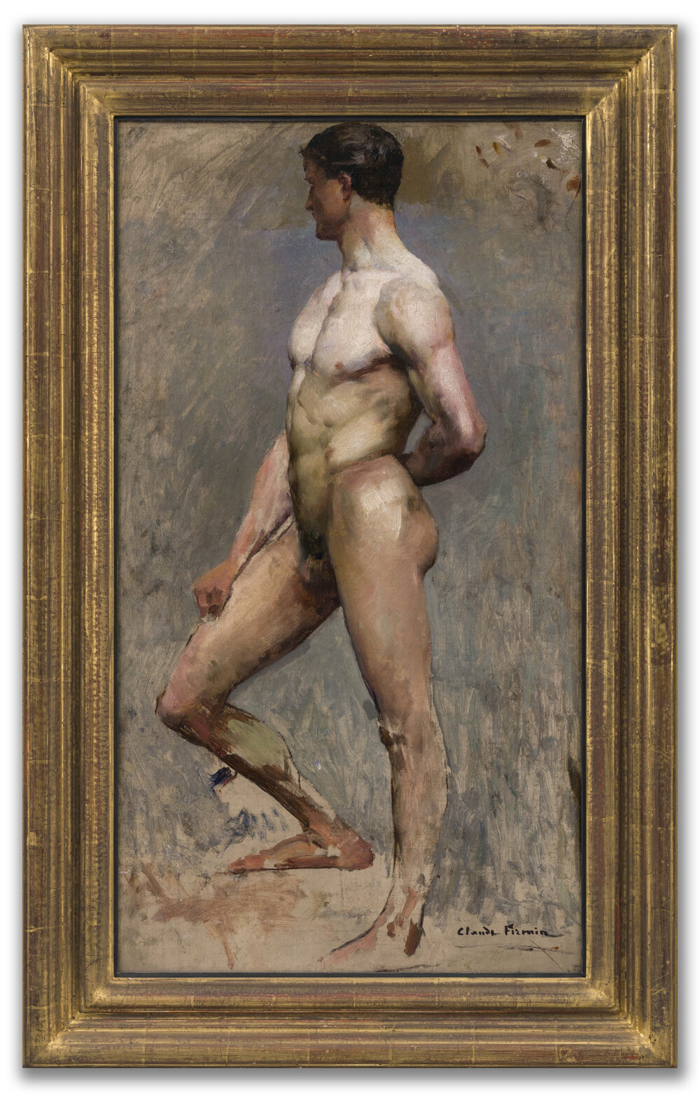 Claude Firmin, (French 1864-1944), Male Academic Study.