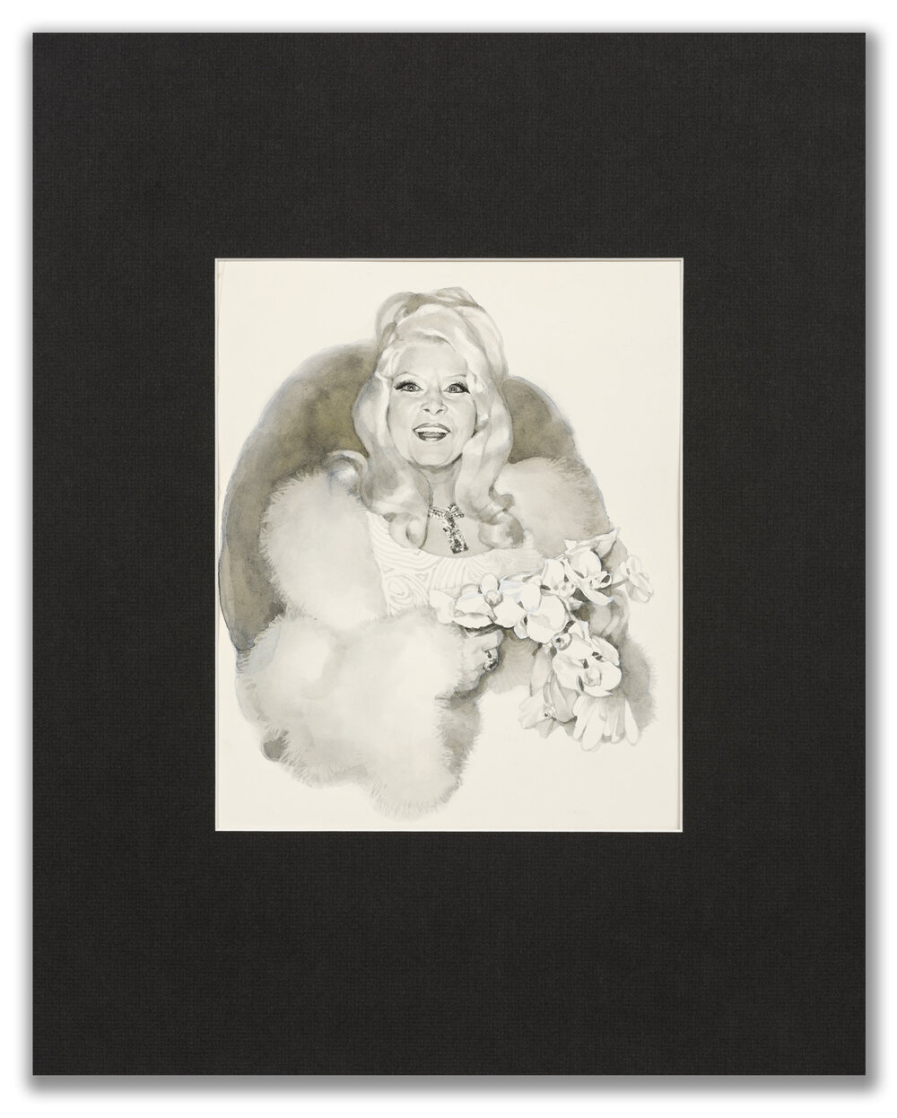 Michael Leonard, (British b.1933), A Good Age; Mae West, 1977.
