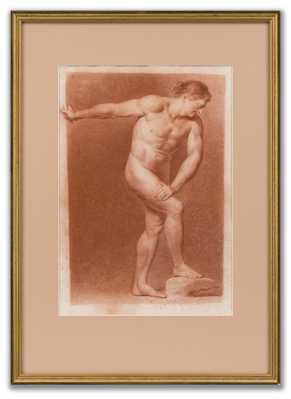 French School, Academic Study, 19th Century.