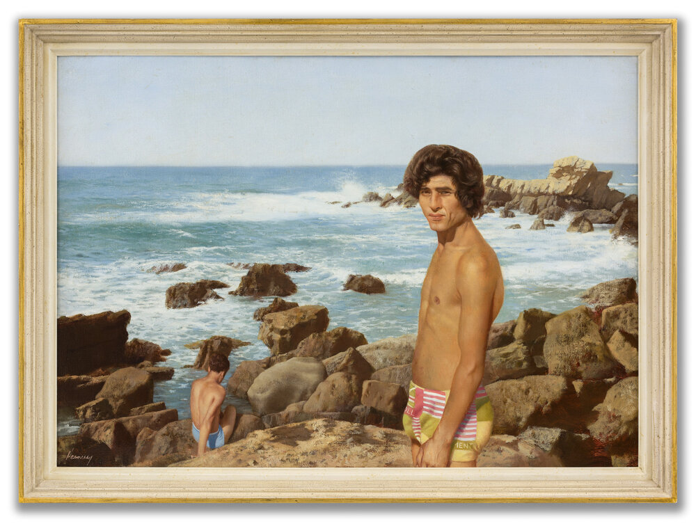 Patrick Hennessy, R.H.A, (Irish 1915-1980), Kassim by the Sea, 1978.