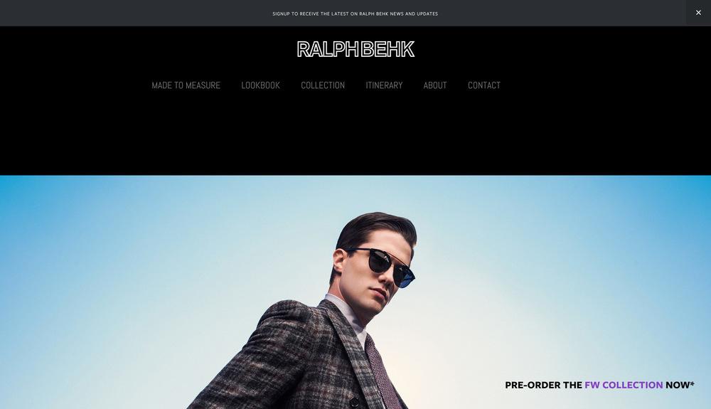 Web Design - RalphBehk.com