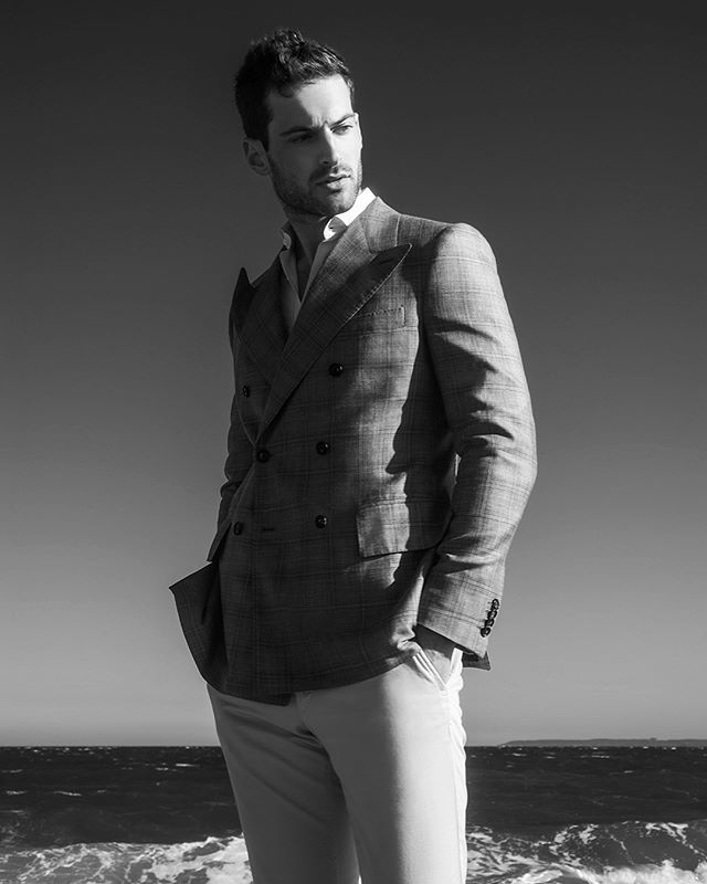 @__mack.b__ at @wilhelminamodels wearing @ralph_behk #grooming by @avivaleahmua