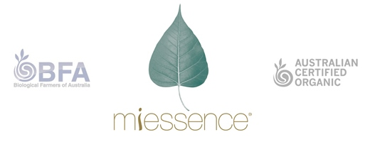 Miessence: home to probiotic, antioxidant and green alkalising certified organic super-food nutrition.