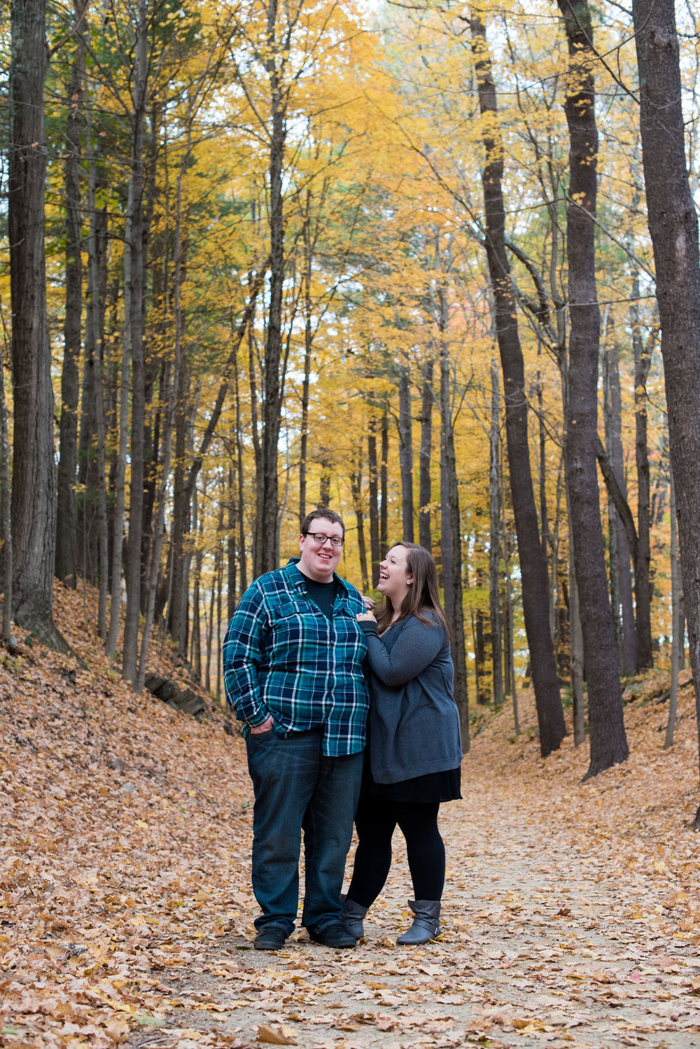 Westville Dam outdoor engagenment photos in Sturbridge, MA by Kara Emily Krantz Photography