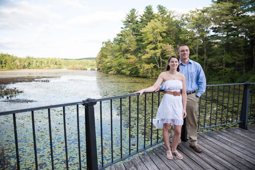 Webster Lake outdoor engagement photos in Webster, MA photographer Kara Emily Krantz Photography