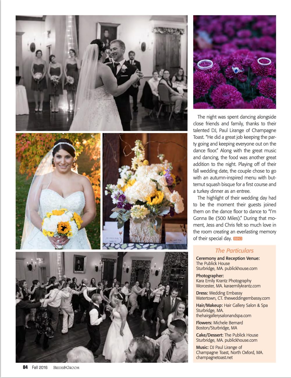 Kara Emily Krantz Photography, New England Outdoor wedding photographer featured in Bride & Groom Magazine.