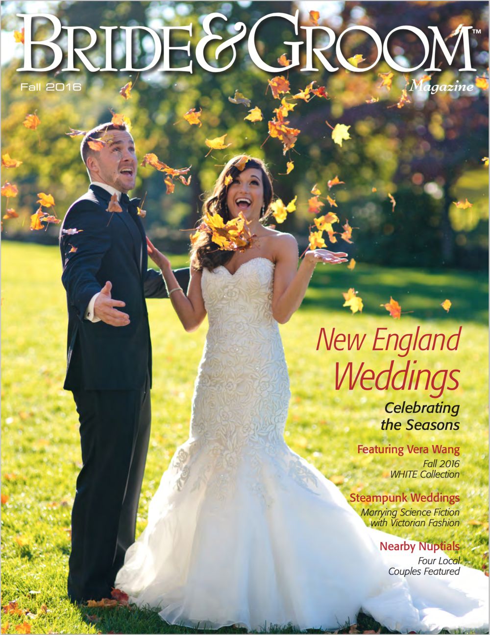 AsFeatured in Bride & Groom Magazine! -