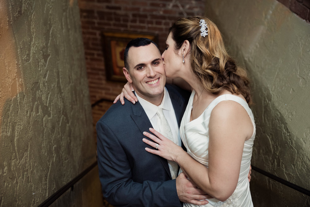 Nuovo Restaurant wedding venue photos in Worcest, MA photographed by Kara Emiy Krantz Photography
