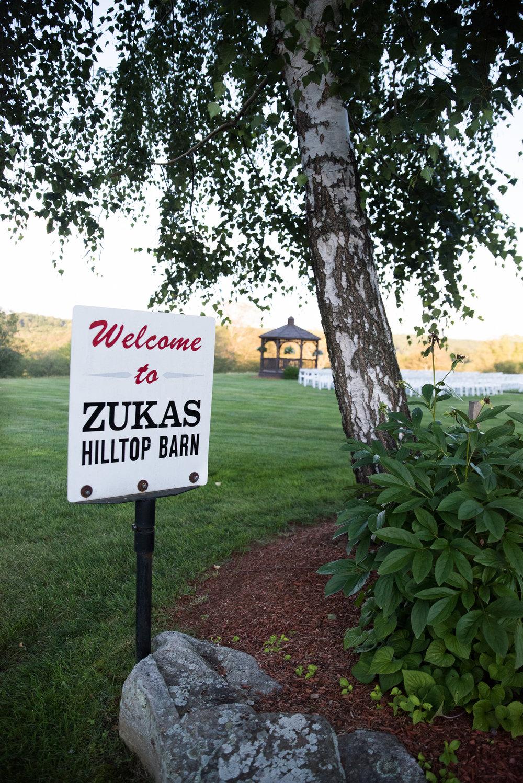 Zukas Hilltop Barn wedding venue photos in Spencer, MA photographed by Kara Emiy Krantz Photography