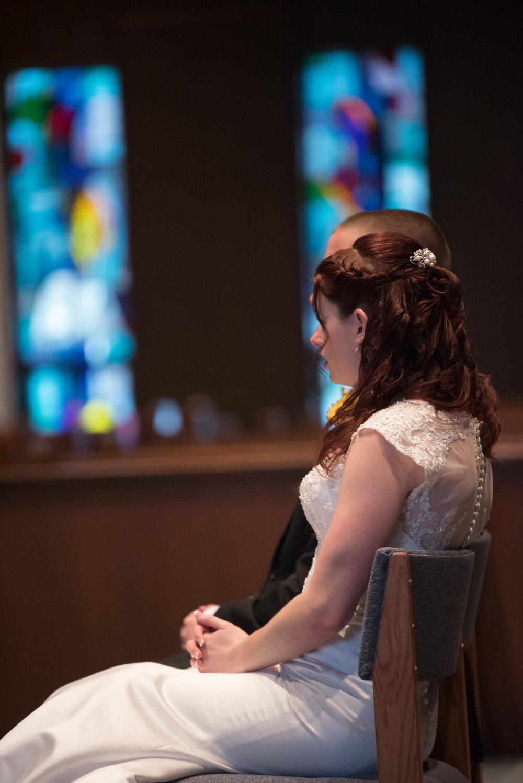 St. Louis Parish wedding venue photos in Webster, Ma by New England wedding photographer Kara Emily Krantz Photography