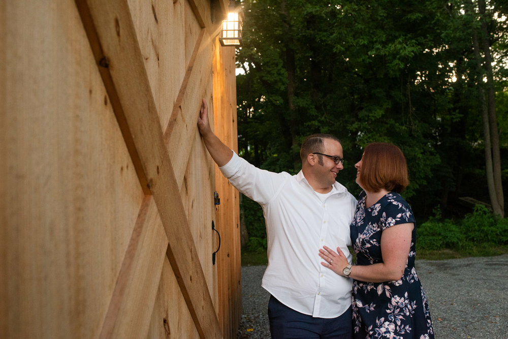 Blackstone River State Park engagement photos in Lincoln, RI photographed by Kara Emily Krantz Photography