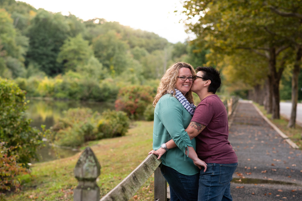 Forest State Park engagement photos in Springfield, MA photographed by Kara Emily Krantz Photography