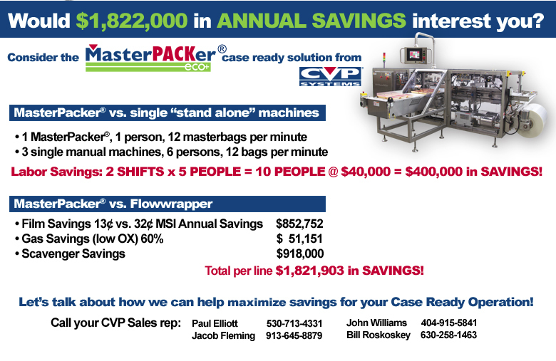 MasterPACKer Eco from CVP