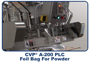 CVP A 200 PLC Foil Bag for Powder