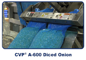 Diced Onion Packaging Machine