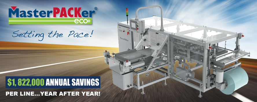 Save Money with MasterPACKer ECO