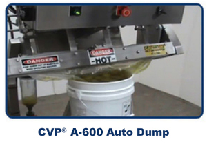 CVP Systems A 600 Auto Dump Machine