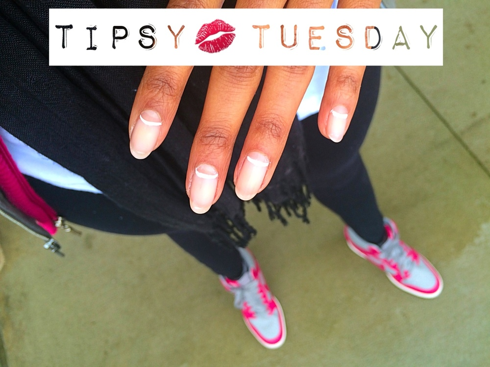 ::: Tipsy Tuesday ::: Tough as Nails: How to Winter Proof And Grow Your Nails Long When Its Cold Outside Is winter being a basic bish? Give it the finger. Albeit, a perfectly manicured one using my tried and true tips to grow longer, stronger nails. As many of you already know, I'm a fan of Julep nail polish. It is undeniable that my nails tend to grow longer, harder and faster when I use their polish in combination with my go-to gel nail polish, Gelous (which I've raved about at length here).  So, when the opportunity came to try Julep's Oxygen Nail Treatment I was all over it. I used my extra Julep points I'd accumulated over the past several months to do two add-ons to my regular monthly order. The oxygen treatments are available are the original light pinkish hue and ivory, so of course I had to get both. There was a time when I almost always solely used very pale nudes, whites and translucent pinks, so these options for a barely there look were right up my ally.                                   {My February Julep Maven Box} The first go-round was pre-Valentine's day week when I'd carelessly broken several nails in one week. I decided to follow the directions which stated that the polish was best used alone. As far as staying power went, the polish lasted, but I didn't notice any significant difference in the strength of my nails, which was disappointing. I went back to polishing and designing my nails as usual for two weeks, then decided to give the Oxygen Treatment another try, this time using my gel method. And hot damn, my nails were winning once again. Some of the reviews I'd read previously complained that the Oxygen Treatment never seemed to dry, but that was not an issue in either case for me. With and without my gel polish and fast-drying top coat my nails set and dried just fine. The difference the gel polish made was that my nails were as hard as ever and growing rapidly. I was so happy with the results that I decided to do a basic design using the negative space concept of white-lined half-moons with my barely-there pink Oxygen Treatment polish on my tips. This nude look gives the feel of having bare nails with just a subtle hint of a design aesthetic. So if you're trying to grow out your nails like I am, here are my top 4 tips: Tip #1 Find a shape that works best with your lifestyle. For me that shape is oval– especially in the grow out stage. Once they get to a desirable length, I file them to a nice almond shape. (refer to the chart below). Tip #2 Gently push back and moisturize your cuticles regularly– at least once a day. I'm not a huge fan of clipping my cuticles. I will if I have to just to keep them from growing too long. But for the most part, cuticle clipping is only done out of necessity for me. Hang nails, on the other hand are another story. I search, clip and destroy hang nails on the regular without hesitation.  Tip #3 Buff nails before polishing. This not only ensures a smooth surface for polish application, but ideally keeps nail polish from lifting and flaking off. Tip #4 Invest in a good nail hardener to use as a base and top coat. Sally Hansen's Diamond Strength Nails was my number one until I caught onto the proper way to use gel polish (the kind without the harmful UV light, of course.)  So, that's it. Let me know if you've tried Oxygenating your nails (that's what I like to call it– I'm fancy, I know. ;)) and how you grow out your nails.