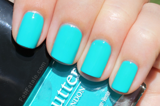 Bella Sassy Most coveted: The perfect Tiffany Blue nail polish. We're starting to believe that it's not out there. Even this color only looks this blue in the outside light. It still dazzles us, nonetheless. Anyone know of any substitutes? Do share! Killin' the game, Sassy Nation Tumblr FB TheSassyNation @SassyNation Pinterest