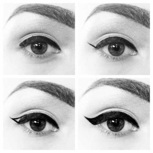 Bella Sassy     How to apply the puurfect cat eye  via The Mane Source           Get sassy, join Sassy Nation     http://sassynation.tumblr.com     http://www.facebook.com/TheSassyNation     http://twitter.com/#!/SassyNation