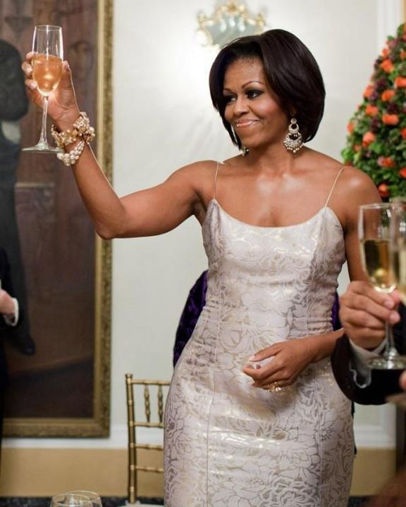 Bella Sassy    Flawless FLOTUS! We adore her (and her sassy guns)! :)     via junkycosmonaut :     A toast to our hot First Lady!          Strong is the new sexy  , join Sassy Nation    http://sassynation.tumblr.com     http://www.facebook.com/TheSassyNation     http://twitter.com/#!/SassyNation