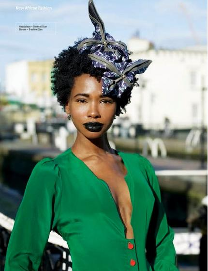 Sassy Hair    We absolutely adore sassy head pieces to accentuate coils.         divalocity :     Hollis for the latest issue of  New African Woman Magazine .       Keep up with the daily fab, join Sassy Nation     http://sassynation.tumblr.com     http://www.facebook.com/TheSassyNation     http://twitter.com/#!/SassyNation