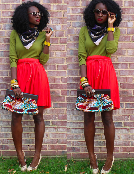 Sassy Style    We just love these sassy bold colors; perfect look for a fall afternoon.    via blackandkillingit      Keep it sassy, join SASSY NATION      http://sassynation.tumblr.com     http://www.facebook.com/TheSassyNation     http://twitter.com/#!/SassyNation