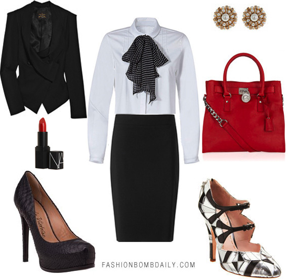 Sassy Style: A Work Look That We Love Doin' it with class 'cause we've got a lot of sass! Photo via Fashion Bomb Daily Join Sassy Nation today http://sassynation.tumblr.com http://www.facebook.com/TheSassyNation
