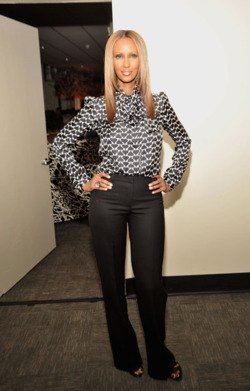 Sassy Style Crush: IMAN Timeless beauty made effortless. Join Sassy Nation for your daily dose of fab http://sassynation.tumblr.com http://www.facebook.com/TheSassyNation