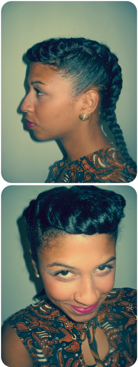 SASSY Retro Braids     A perfect protective style option for the upcoming winter months.  We will definitely be trying this sassy style.  Check out the link below for a video tutorial on how to achieve the look.     via BGLHonline     Have you joined Sassy Nation yet? Sassin' it up on a daily basis…    http://sassynation.tumblr.com     http://www.facebook.com/TheSassyNation     http://twitter.com/#!/SassyNation