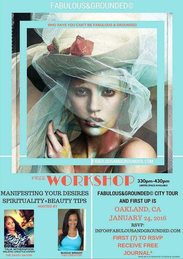 Copy of Manifestation & Holistic Beauty Workshop