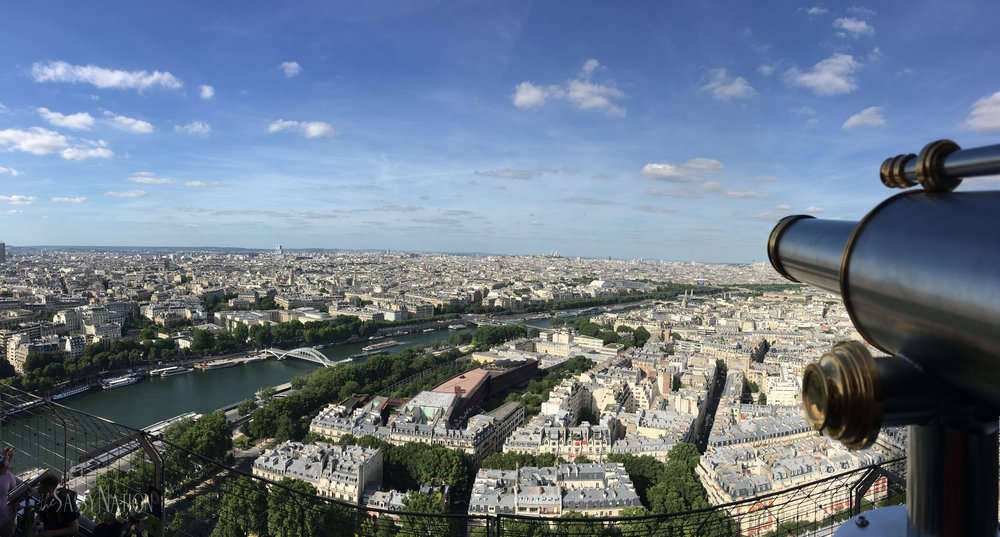 Views from the Eiffel