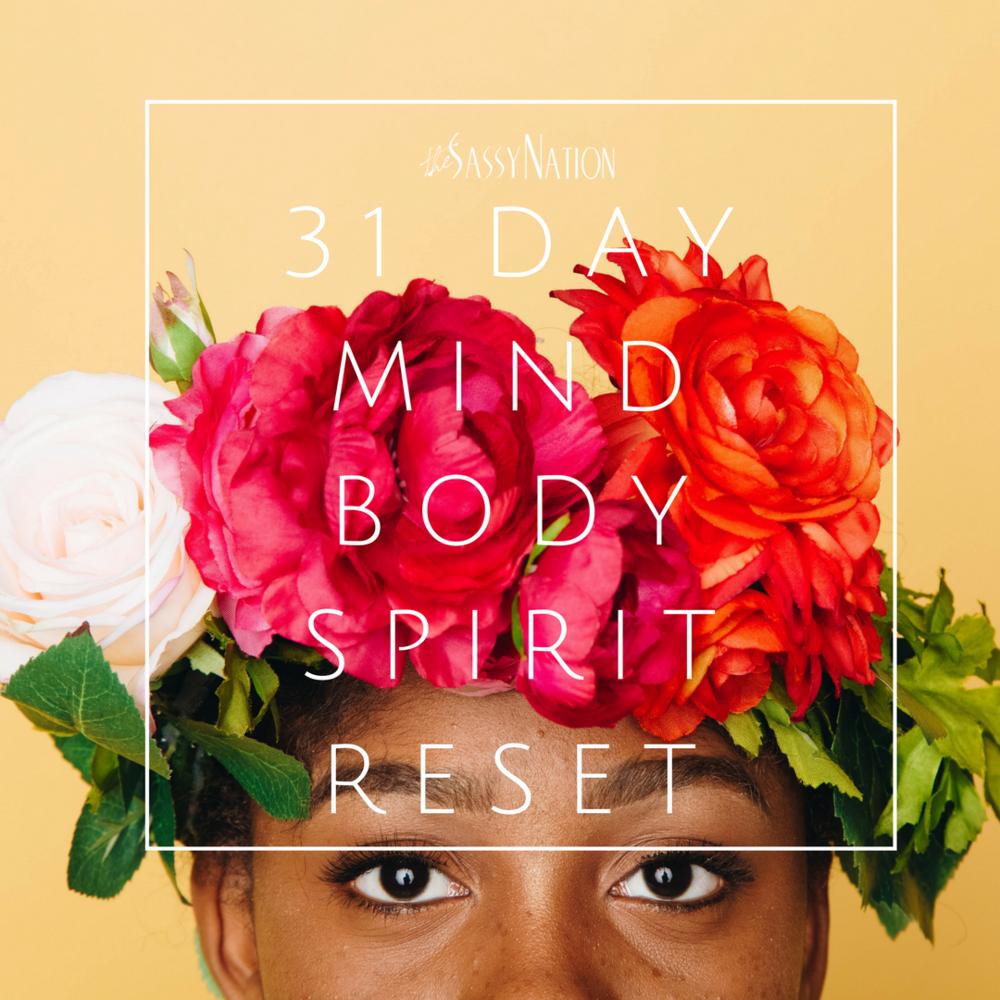 31 Day Mind, Body, {CREATIVE} Spirit Master Class