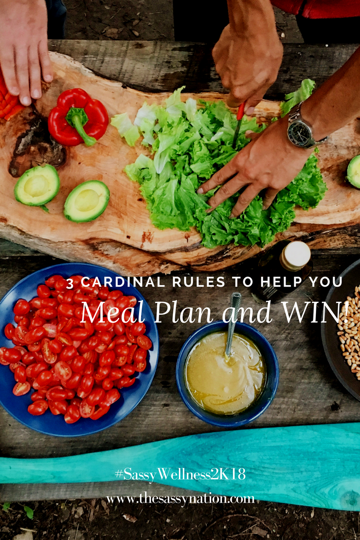 3 Cardinal Rules to Help You Meal Plan & WIN!